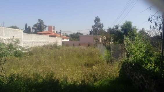 Coinmver vende terreno a 10 mints. del deportivo xochimilco