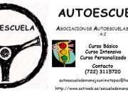 Escuela de Manejo en Metepec