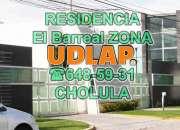 Casa CHOLULA Barreal Jardines de los cipreses por UDLAP