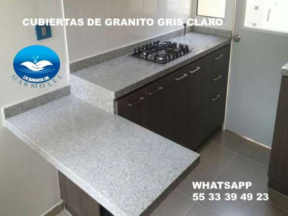 !! las cubiertas en granito natural $ 1,790.00 ml !!