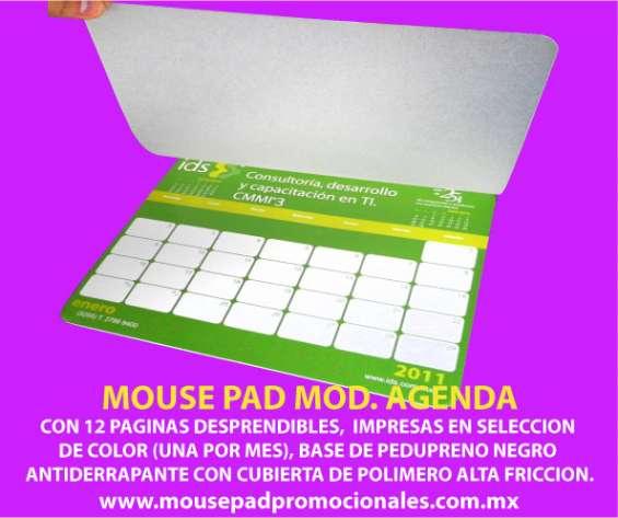 Mouse pad calendario