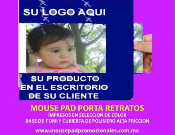 Mouse pad porta retatos