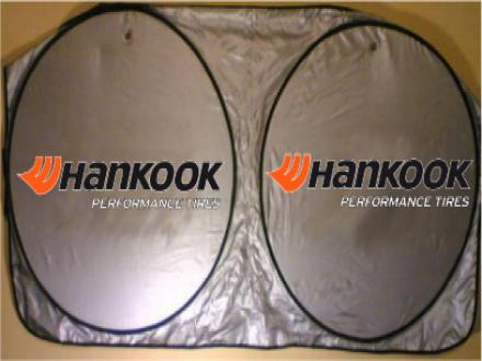 Parasoles tipo lente para autos