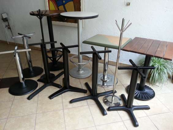 Bases para mesas en fundicion