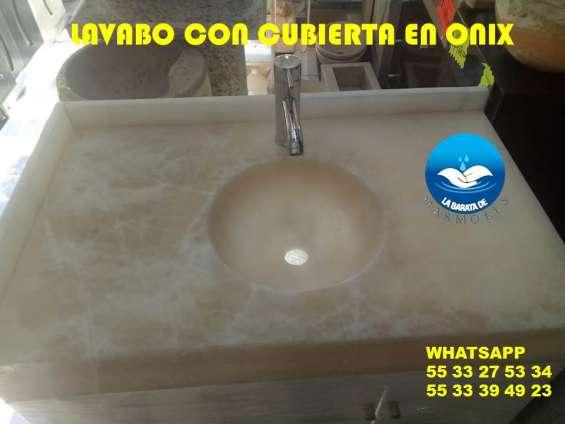 Fotos de Increibles lavabos en onix 3
