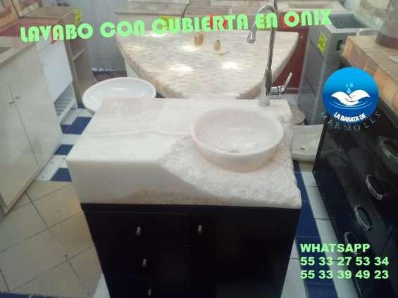 Fotos de Increibles lavabos en onix 2