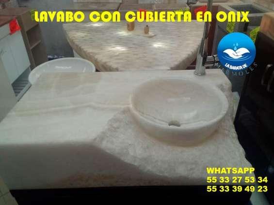 Increibles lavabos en onix