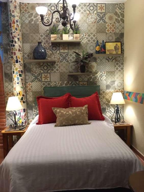 ¿cansado de los hoteles? hospédate en una suite amueblada