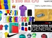 Empaca ropa deportiva en casa- $30 por paquete