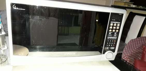 Vendo horno de micro ondas daewoo $1600