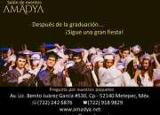 Salón de Graduaciones en Metepec.