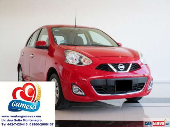 Nissan march 2014 equipado