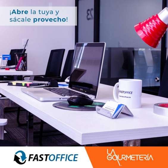 Tenemos oficinas disponibles con los servicios incluidos en tu renta
