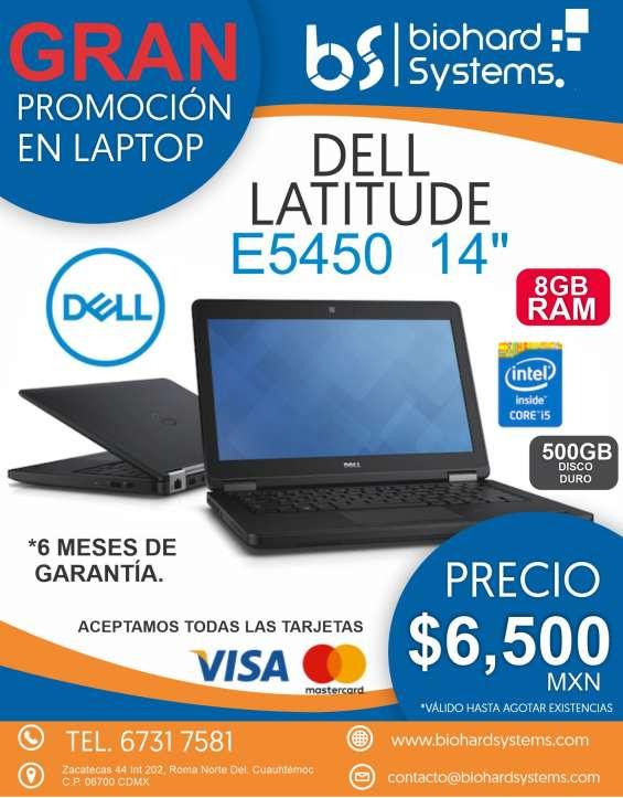 Biohard systems oferta en laptop dell e5450