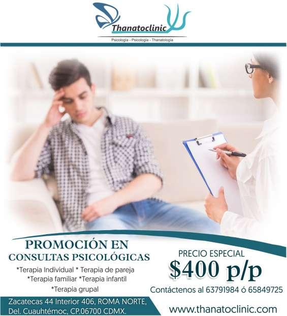 Thanatoclinic consultas en psicología, psiquiatría y tanatología