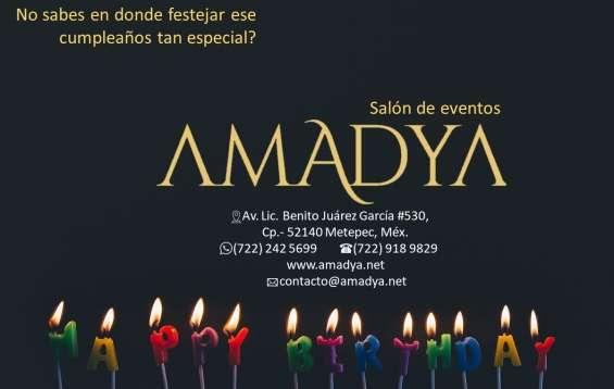Celebra tu cumpleaños en metepec