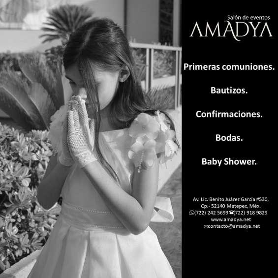 Primera comunion en salon de fiestas amadya 6.0