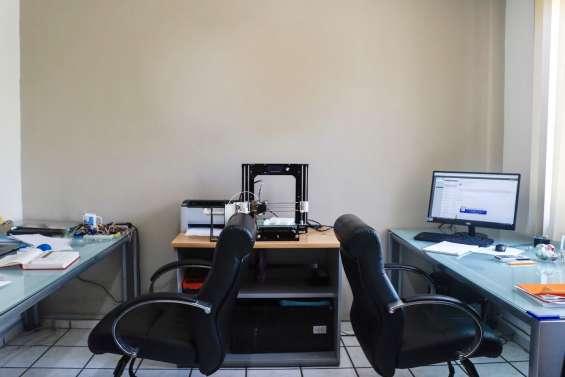 Oficinas amuebladas en renta en la estancia