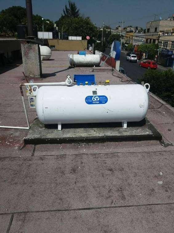 Venta de tanque estacionario de 500 lts marca tatsa en distrito federal