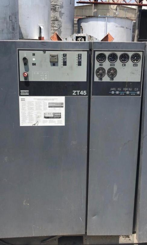 Compresor de garra doble etapa marca atlas copco 60 hp´s con secador de aire