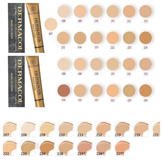 Dermacol maquillaje 30g. nuevo, excelente y producto de alta calidad.