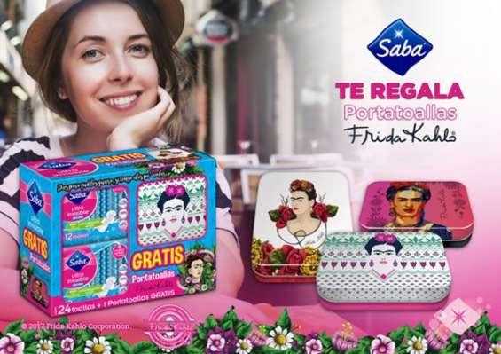 Empaca promociones de toallas femeninas mas cosmetiquera