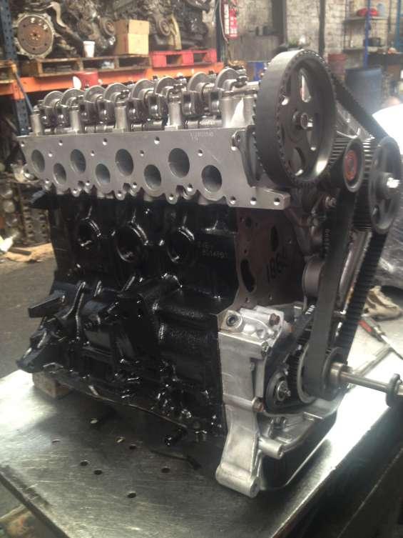 3/4 motor remanufacturado y armado con refacciones nuevas