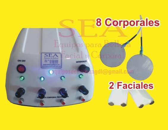 Masajeador corporal reafirmante con 8 aplicadores 3 anios garantia