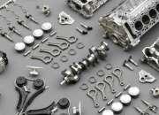 Refacciones y partes para armado de motores.