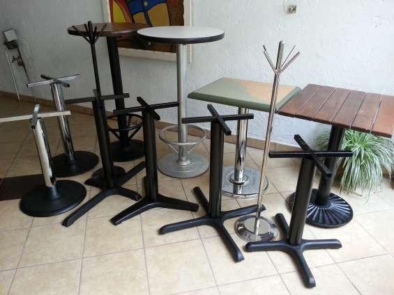 Bases para mesas de restaurant.