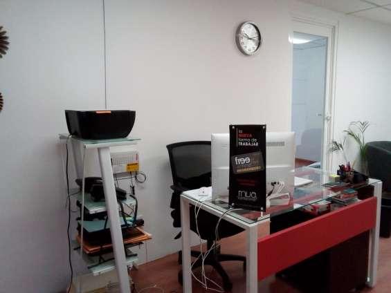 Oficinas amuebladas con promocion en renta
