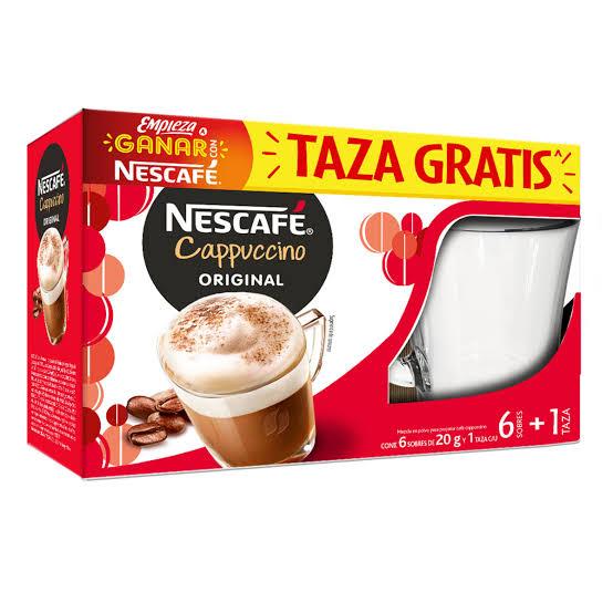 Empaca cafe mas taza