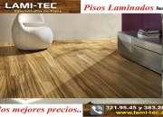 Paquete de piso laminado con instalación incluida al mejor costo
