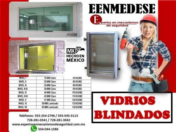 Vidrios blindados eenmedese