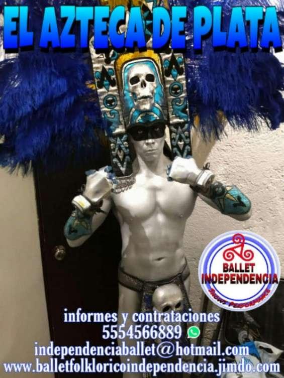 Azteca de plata show performance,xv años,bodas,fiestas