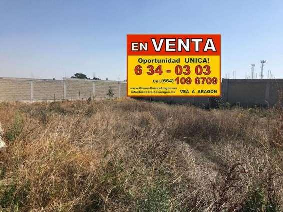 Vendemos excelente terreno 3,323 mts² uso comercial e industrial a-gui